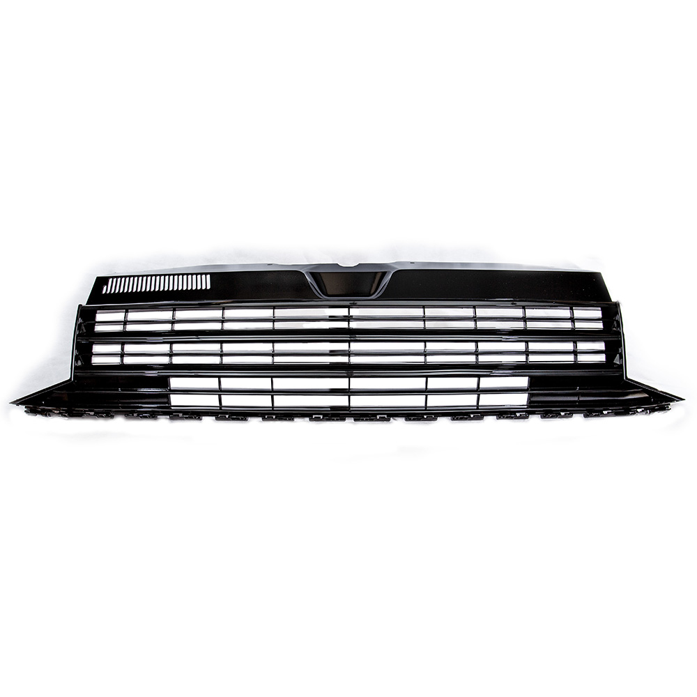 T6 Badgeless Grill All Gloss Black T5 T6 Exterior Styling Transporter Hq