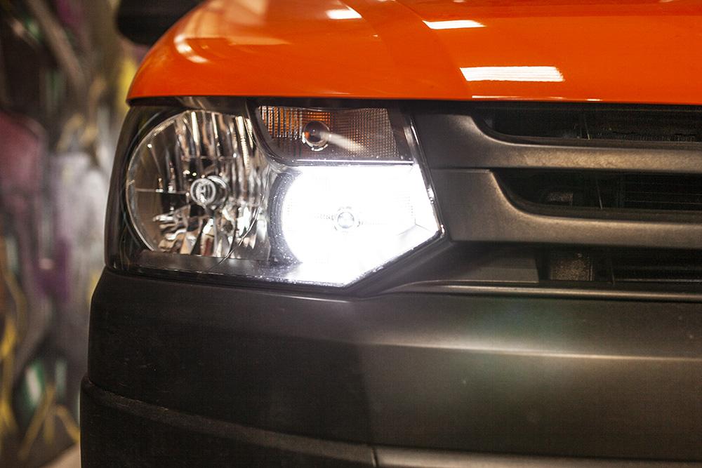 VW T5.1 Xenon LED DRL Upgrade for Genuine Headlights   LED ...
