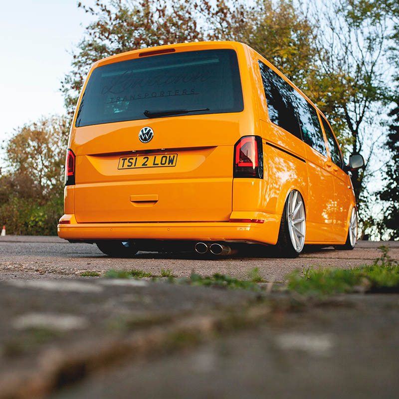 Vw T6 Sequential Indicator Led Rear Lights For Barn Doors