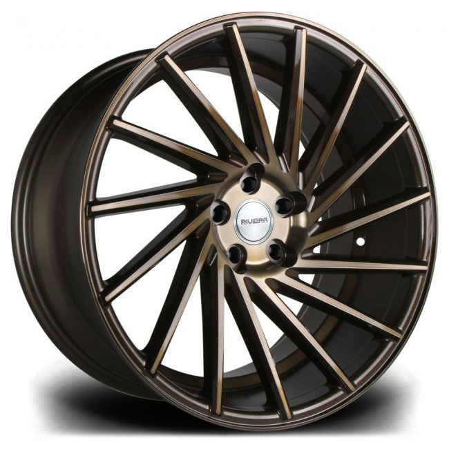 Riviera Rv135 19 Quot Black Bronze 8 5j Amp 9 5j Alloy Wheels