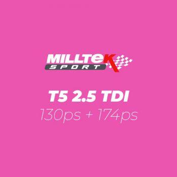 T5 2.5 TDI 130ps + 174ps