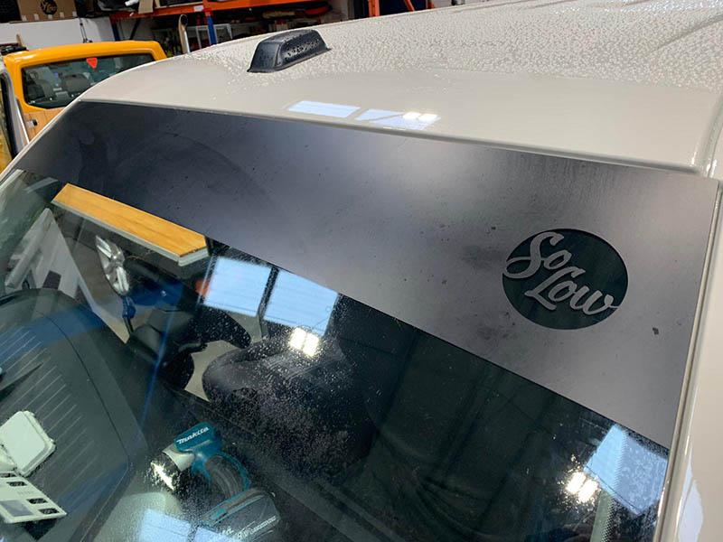 So Low Suspension Logo Sun Strip   Stickers   Transporter HQ