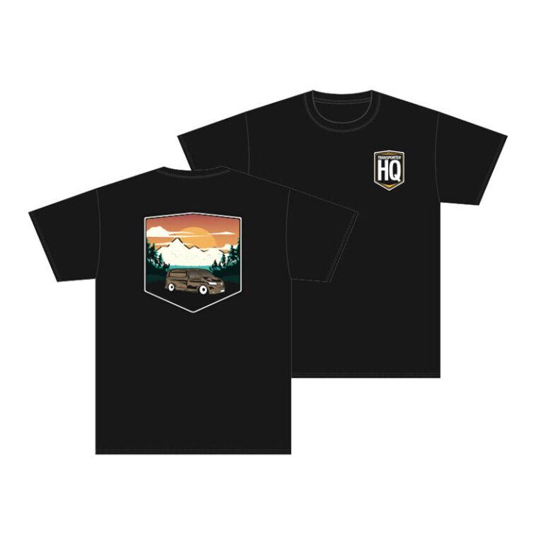 "Transporter HQ - Black ""Sunset"" T-Shirt   Clothing ..."