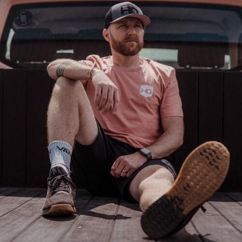 "Transporter HQ - Rose Clay ""Border"" T-Shirt   Clothing ..."
